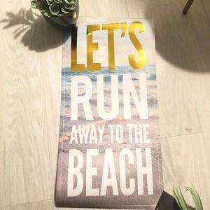 Gold beach vibes wall decal